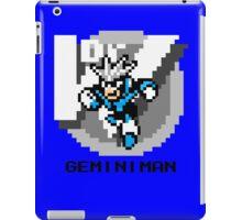 Gemini Man with Black Text iPad Case/Skin