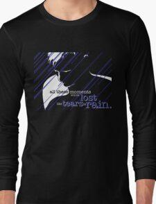 Tears in Rain Long Sleeve T-Shirt