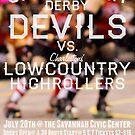 Savannah Derby Devils vs. Low Country High Rollers by Scott Harrison