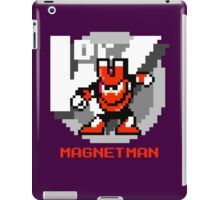 Magnet Man with Red Text iPad Case/Skin