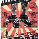 Savannah Derby Devils Final Home Bout (2013) Poster by five5six