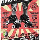 Savannah Derby Devils Final Home Bout (2013) Poster by Scott Harrison