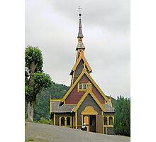 Norwegian Country Church Photographic Print