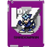 Shadow Man with Black Text iPad Case/Skin