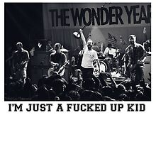 Just a fucked up kid - The Wonder Years - Live Shot by katnissramsay