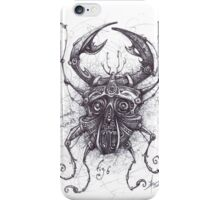 Scarabaeus Steampunk Mortem 0.3 iPhone Case/Skin