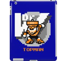 Top Man with Orange Text iPad Case/Skin