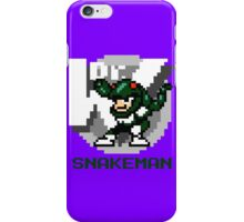 Snake Man with Green Text iPhone Case/Skin