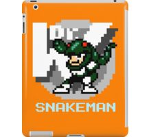 Snake Man with Text iPad Case/Skin