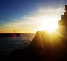 Porthleven Harbour by HenryGeeVee