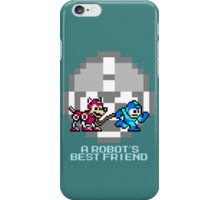 Megaman walking Rush iPhone Case/Skin