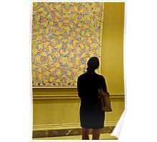 Admiring Jasper Johns Poster