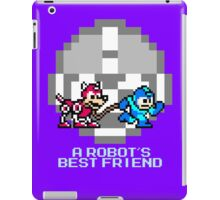 Megaman walking Rush iPad Case/Skin