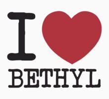 I Heart Bethyl Kids Clothes