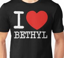 I Heart Bethyl v2 Unisex T-Shirt