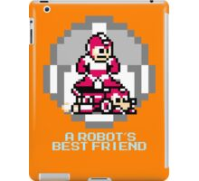 Red Megaman Riding Jet Rush iPad Case/Skin