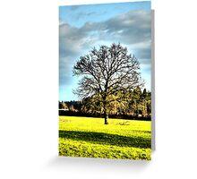 A Single Tree Greeting Card