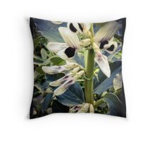 First Favas Throw Pillow