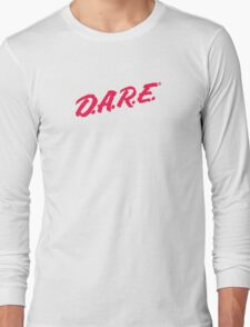 D.A.R.E t-shirt Long Sleeve T-Shirt