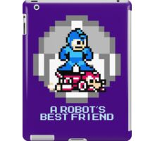 Megaman Riding Jet Rush iPad Case/Skin