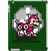 A Robot's Best Friend (Black Text) iPad Case/Skin