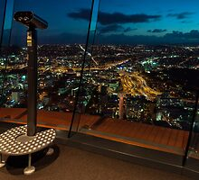 Auckland Sky Tower by Mark Sykes