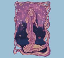 The girl with the Magic Hair Kids Clothes