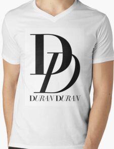 Duran Duran Band Logo Mens V-Neck T-Shirt