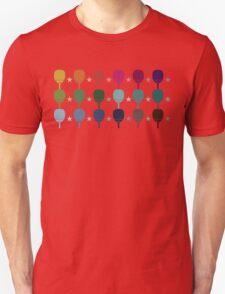 Ping Pong Table Tennis Unisex T-Shirt
