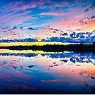 beautiful autumn sunset by Alexandr Grichenko