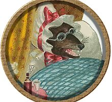 Big bad wolf granny by Rob Cox