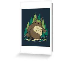 torofoot Greeting Card