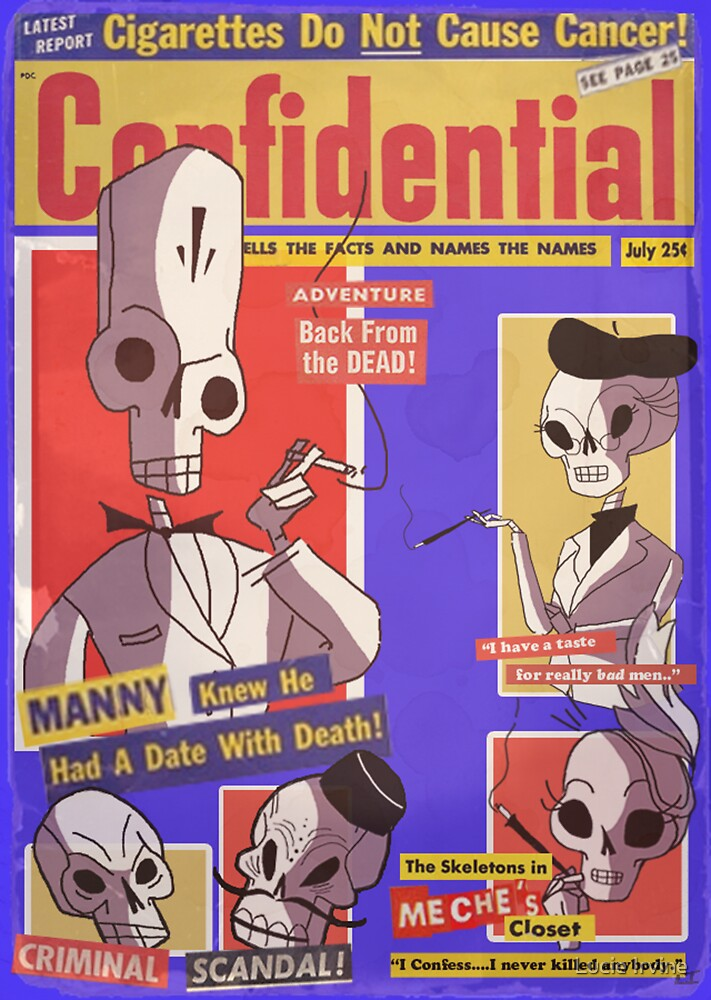 Confidential Magazine Cover by Lucie Irvine