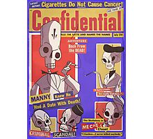 Confidential Magazine Cover Photographic Print
