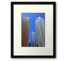 Toronto Downtown Buildings Framed Print