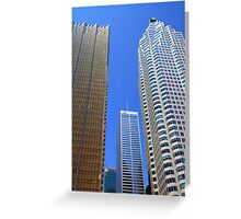 Toronto Downtown Buildings Greeting Card