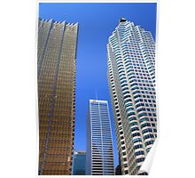 Toronto Downtown Buildings Poster