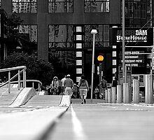On the Boardwalk by Valentino Visentini