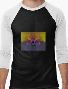 Peekaboo Men's Baseball ¾ T-Shirt