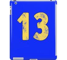 Vault 13 - Classic Blue iPad Case/Skin