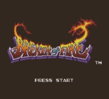 Breath of Fire (SNES) Title Screen by AvalancheJared