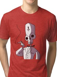 Manny Calavera  Tri-blend T-Shirt