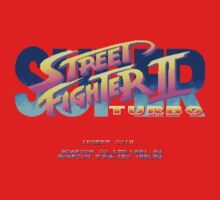 Super Street Fighter II Turbo (Arcade) Title Screen by AvalancheJared