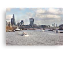 London Blackfriars Bridge Canvas Print
