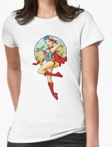 WWII Bombshell Womens Fitted T-Shirt