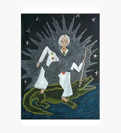 Goddess Akhilandeshvari Photographic Print