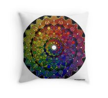 Mandala 46 T-Shirts, Hoodies and Stickers and cases - Jim Gogarty Throw Pillow
