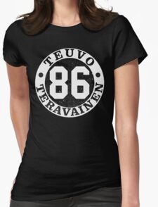 Teuvo Number  Womens Fitted T-Shirt