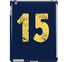 Vault 15 - Vintage Blue iPad Case/Skin