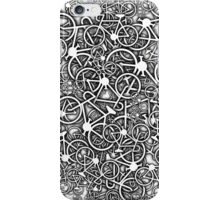Tangled Up In Bicycles iPhone Case/Skin